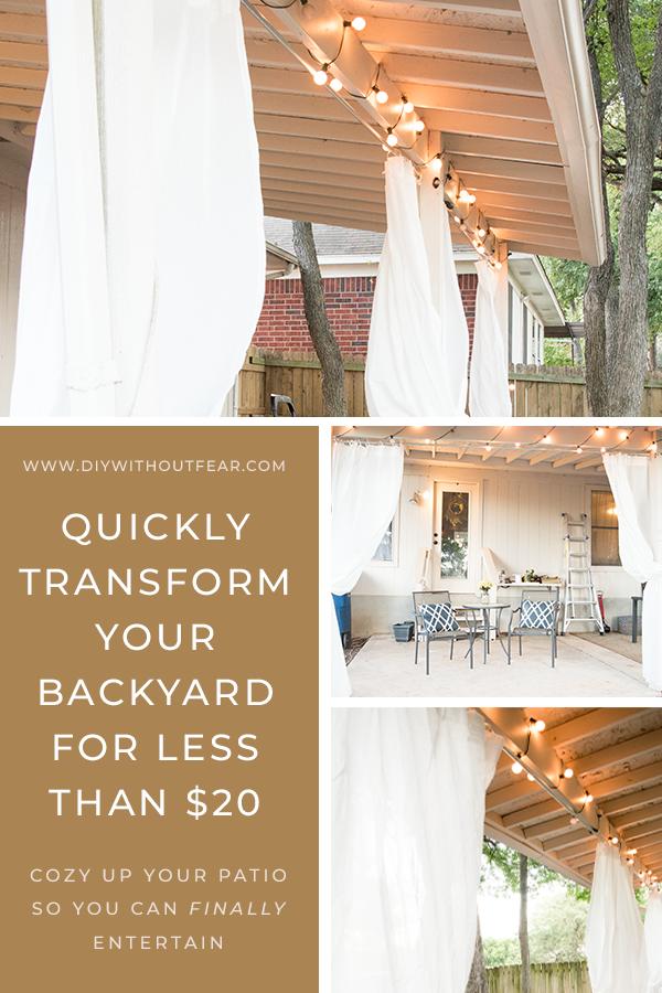 outdoor curtains for patio diy patio