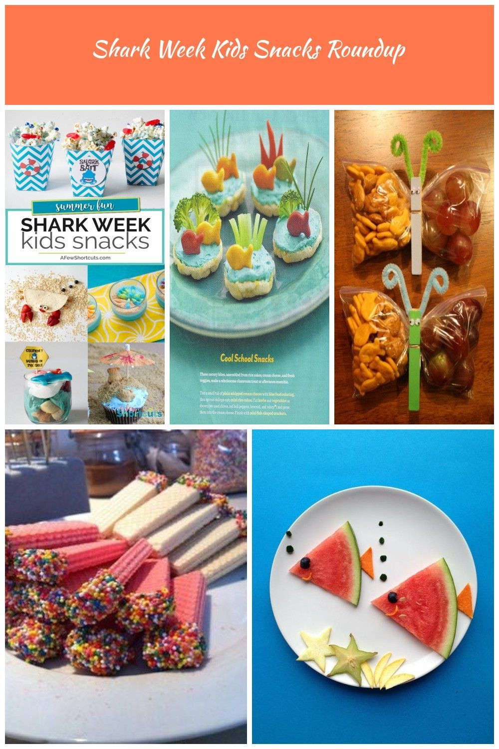 Shark Week is almost here. Time to make some fun Shark Week Kids Snacks to keep the entire family in on the fun! Check out these adorable ideas! #sharkweek #kidfood #snacks #recipes #summer kids snacks Shark Week Kids Snacks Roundup #sharkweekfood Shark Week is almost here. Time to make some fun Shark Week Kids Snacks to keep the entire family in on the fun! Check out these adorable ideas! #sharkweek #kidfood #snacks #recipes #summer kids snacks Shark Week Kids Snacks Roundup #sharkweekfood