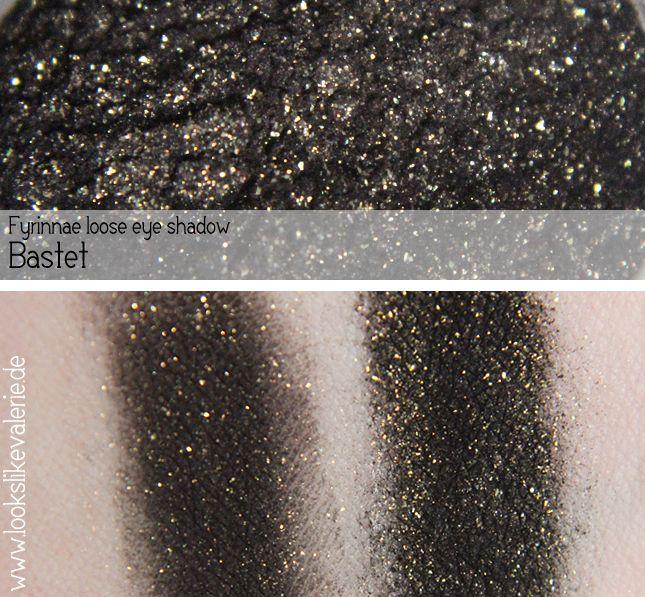 [Swatch] Fyrinnae Loose Eye Shadow / Pigment Swatches