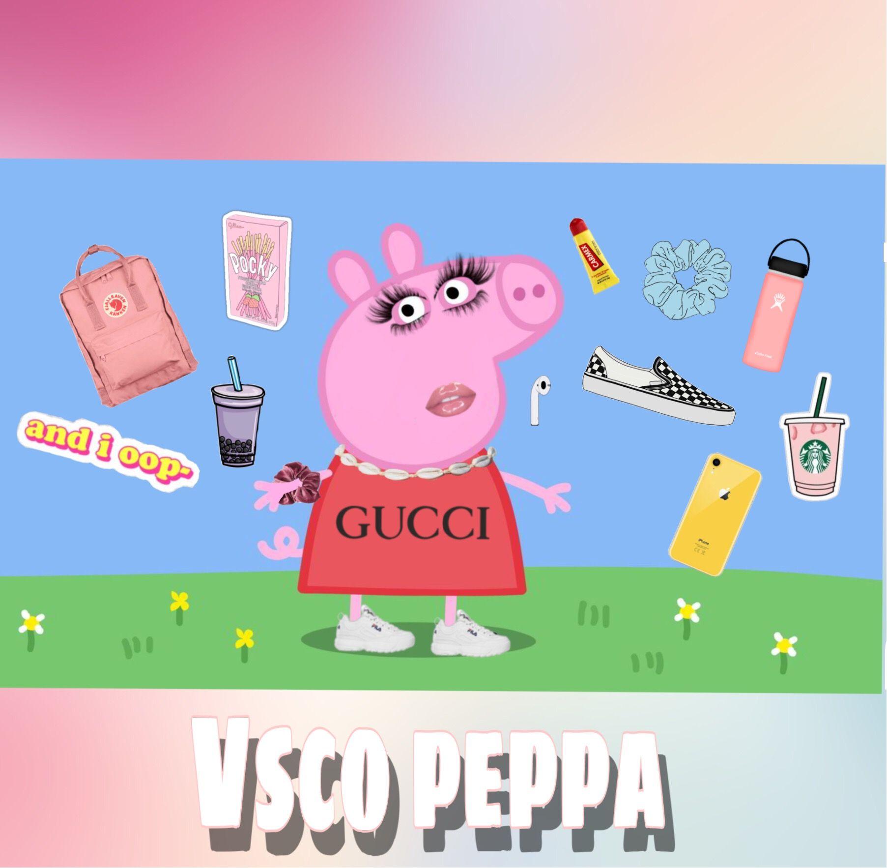 Vsco Peppa Pig Peppaedit Freetoedit Remixed From Peachy Raven Vscoxqueen Picsartchallenges Peppa Pig Wallpaper Peppa Pig Memes Peppa Pig Pictures
