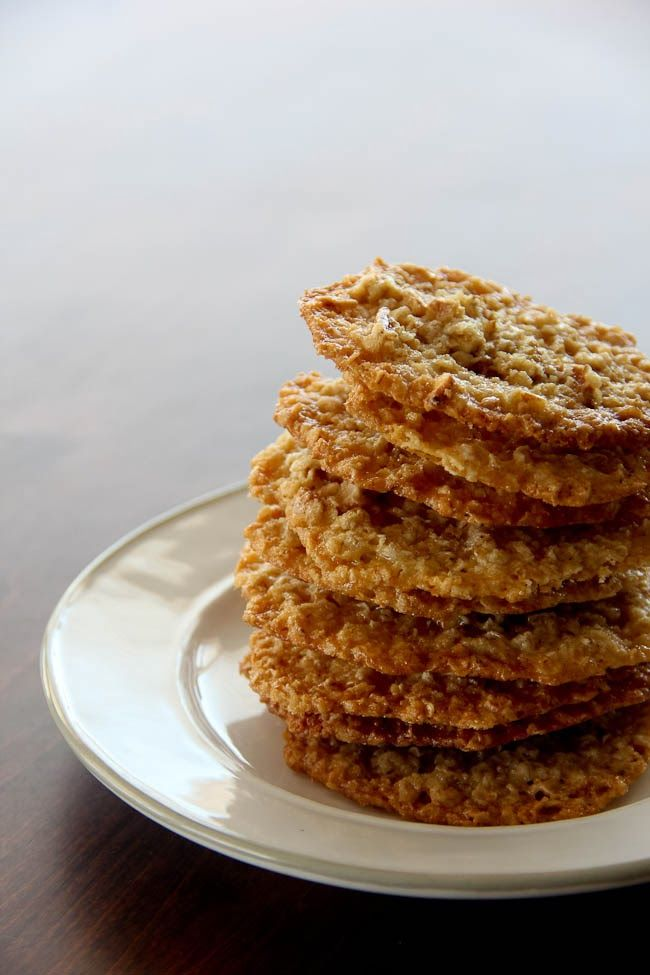 The Fisk Files: Oatmeal Lace Cookies
