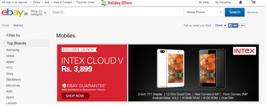 Top 5 websites to buy mobiles