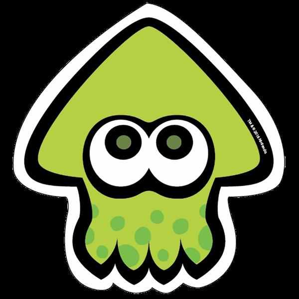 Splatoon Green Squid Sticker Eb Games Australia Splatoon Stickers Squid