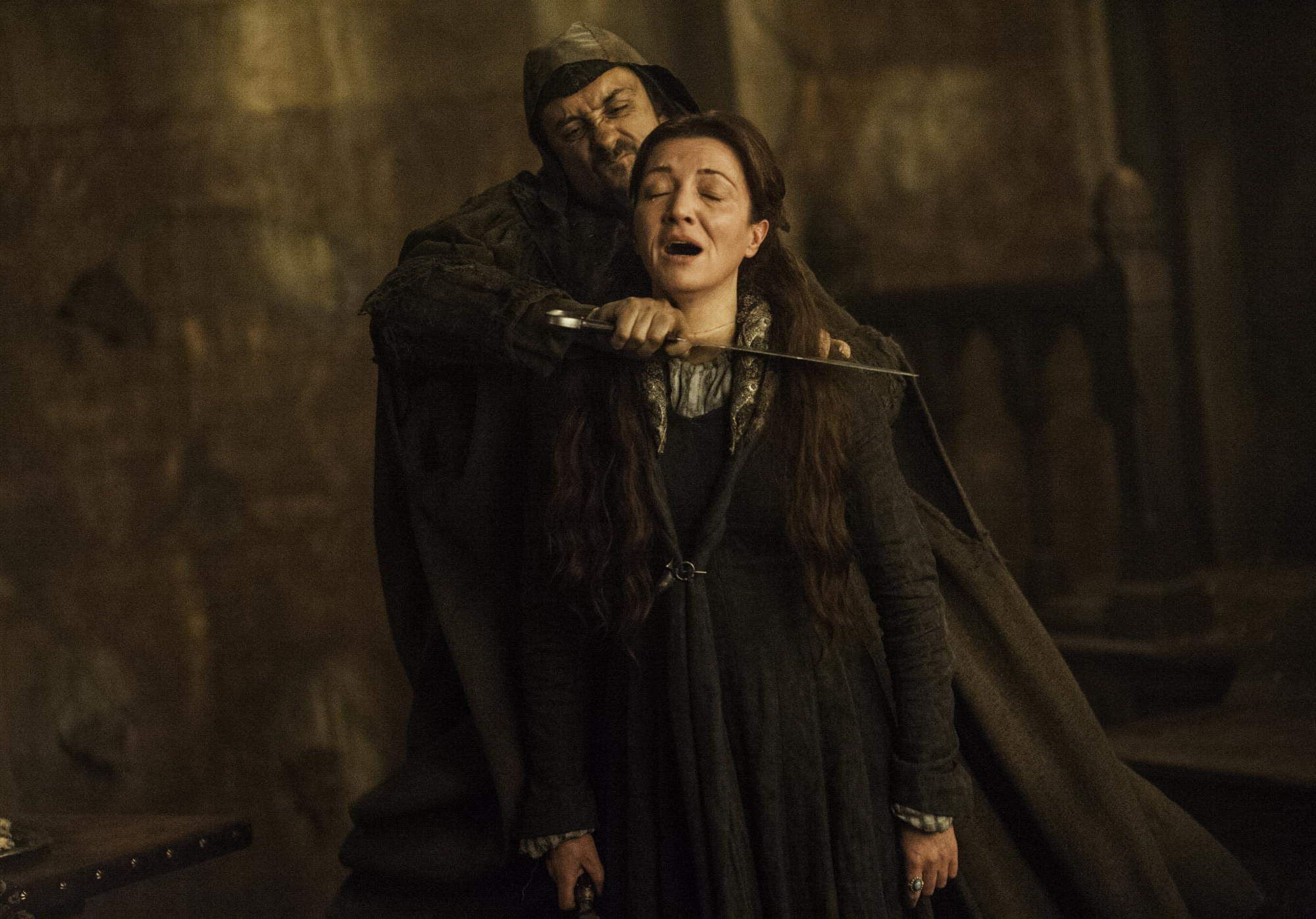 The Secrets Behind 8 Jaw Dropping Game Of Thrones Moments Red Wedding Michelle Fairley Shocking Games