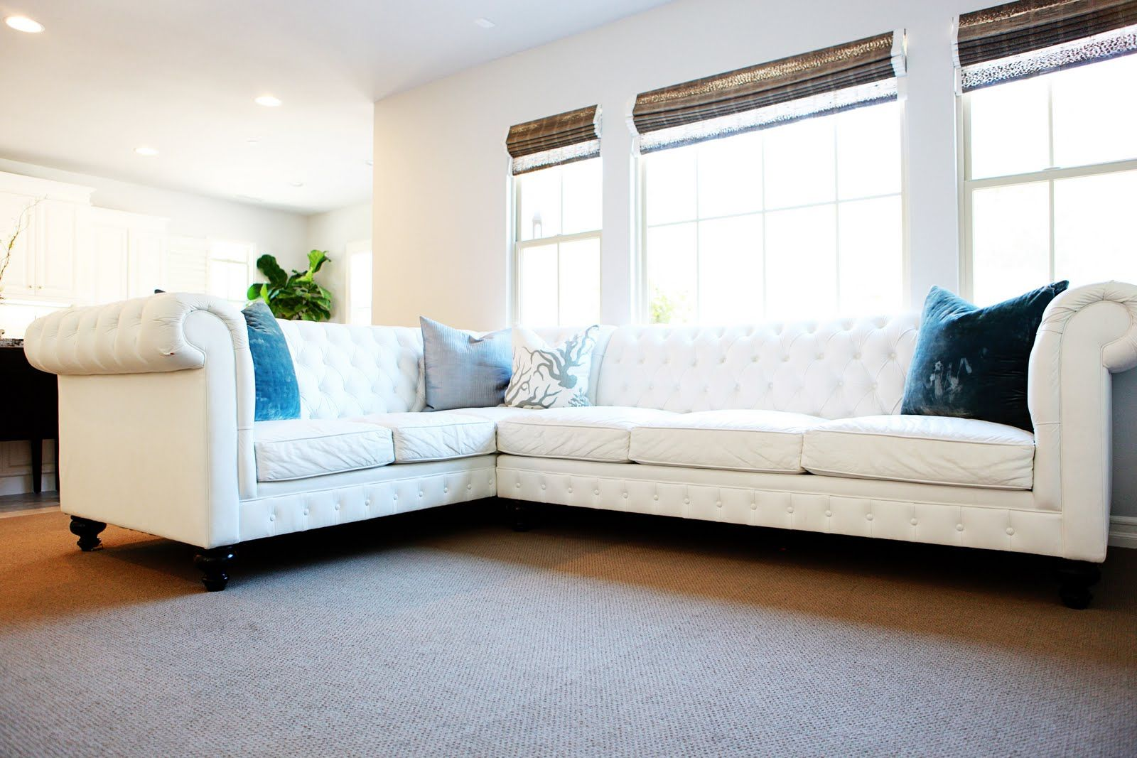 Always Swell Tgif White Out Living Room Decor White Leather