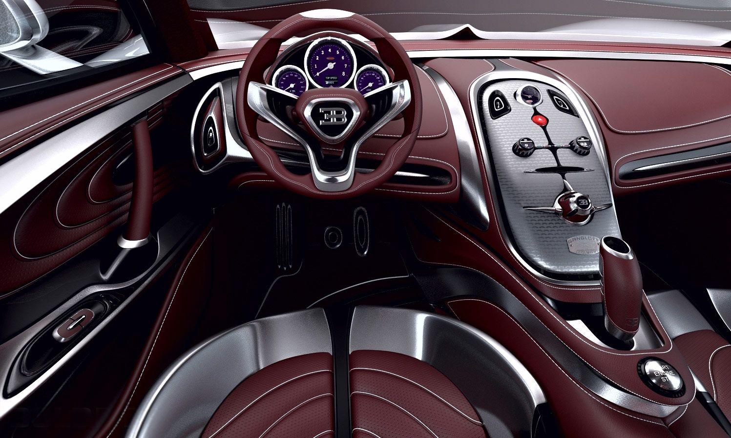 Bugatti Gangloff Concept Interior