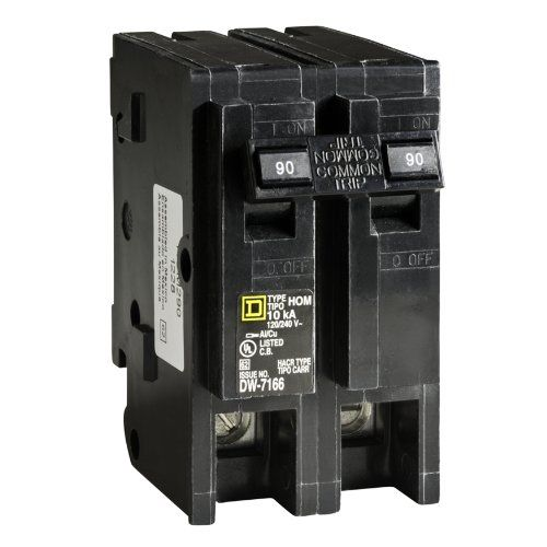 Square D By Schneider Electric Hom290cp Homeline 90amp Twopole Circuit Breaker You Can Find More Details By Visiting The Image Circuit Breakers Gadget World