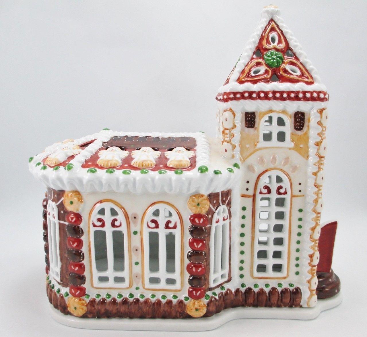 VILLEROY & BOCH Christmas Xmas Germany Chapel Angel CANDLE