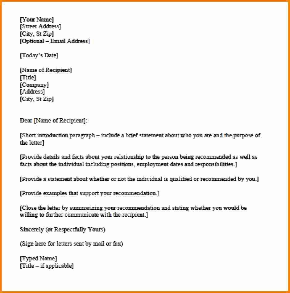 personal letter format template lovely personal letter