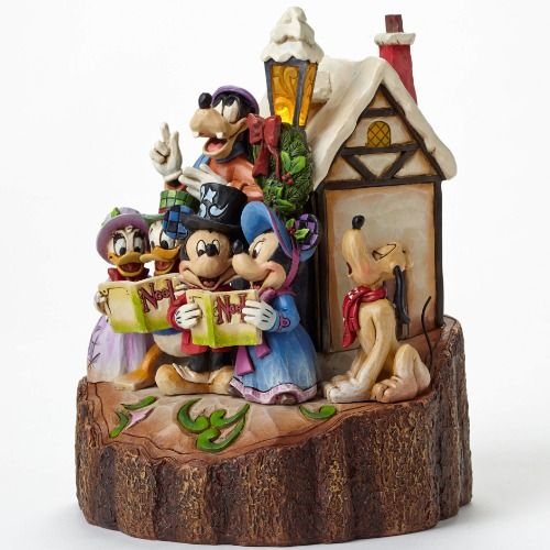 Disney Christmas Caroling Carved by Heart by Jim Shore 4046025 ...