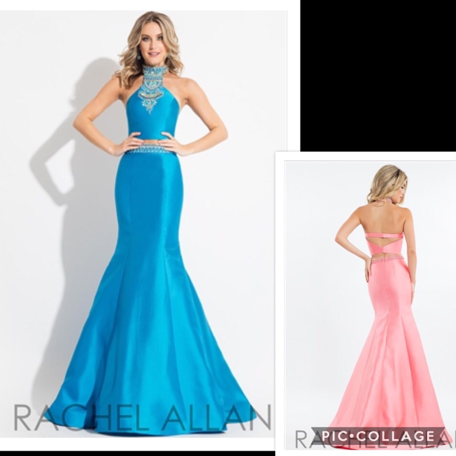 Another STUNNING 2 piece by Rachel Allan. New with Tags, Size 8 ...