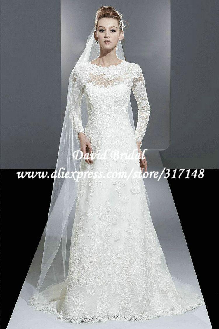 Encontrar m s vestidos de novia informaci n acerca de for Wedding dresses in modesto ca