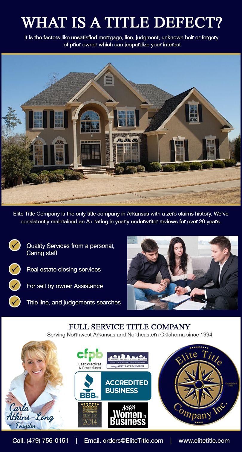 Elite services premier title insurance company siloam