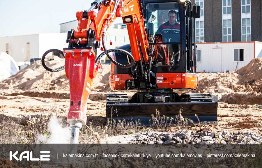 Kubota Mini Excavator with Jack Hammer Attachment | Property