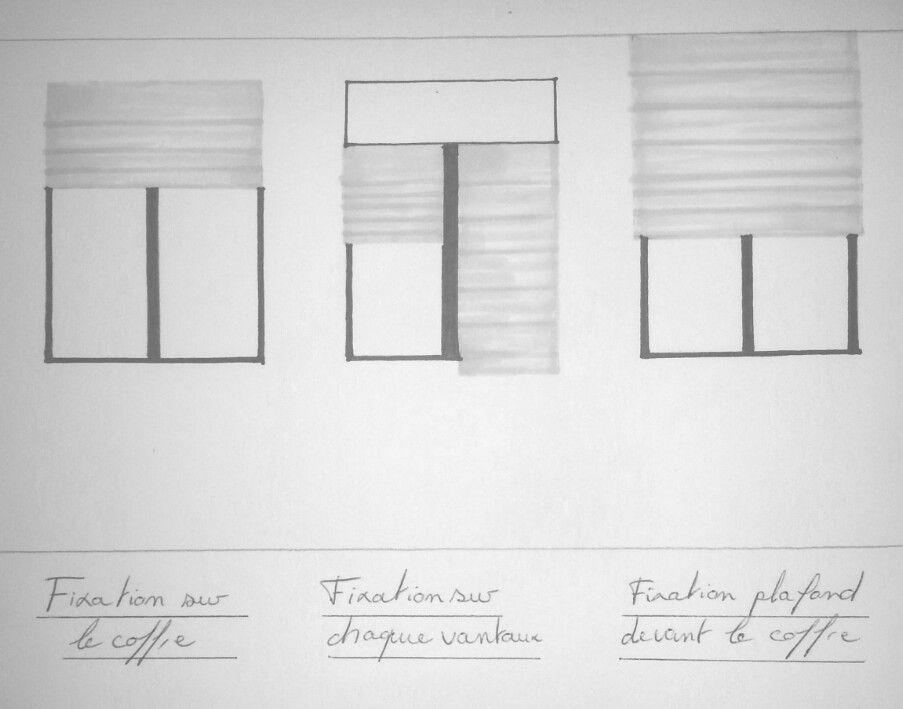 conseil de pose pour vos stores pour cacher le coffre des volets roulants tout en habillant. Black Bedroom Furniture Sets. Home Design Ideas