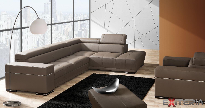 Rohova Rozkladacia Sedacia Suprava Gribin Ulozny Priestor Furniture Sectional Couch Sofa
