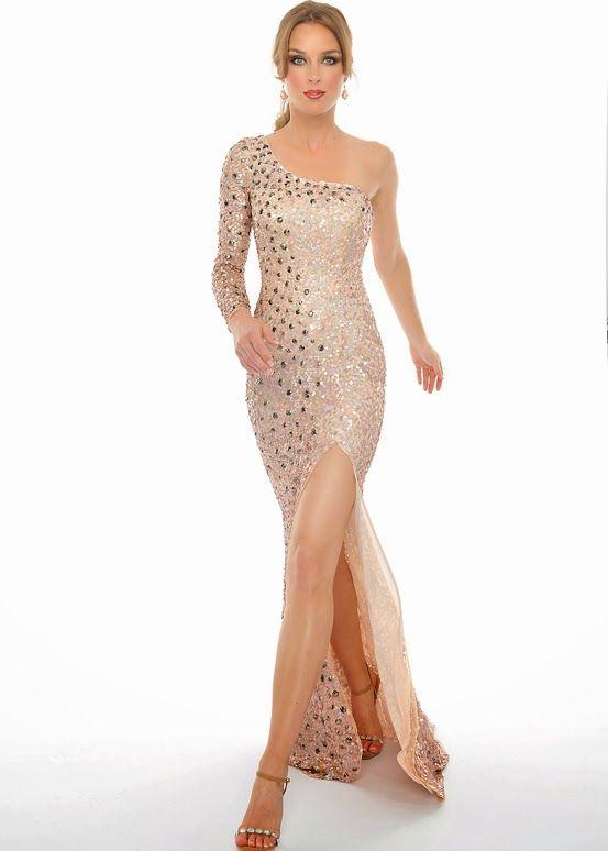 Fantásticos vestidos de fiesta largos | Moda | vestidos boda ...