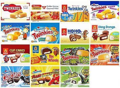 vintage hostess cakes   Vintage Hostess Twinkies & Cakes Fridge