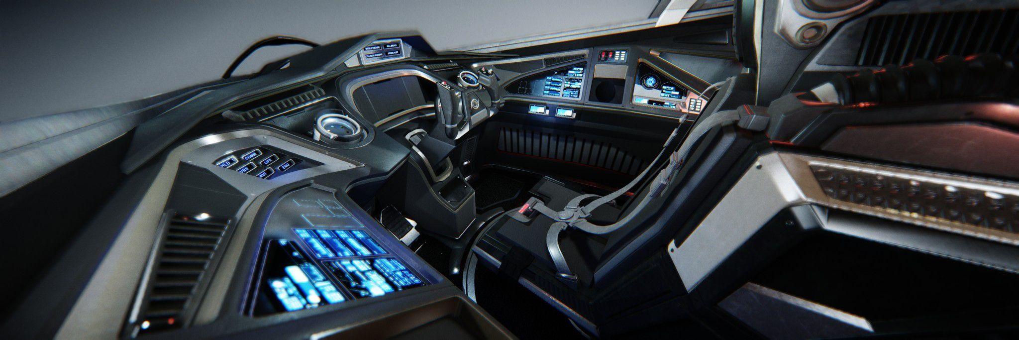 Spaceship Cockpit Interior Google Search Sci Fi