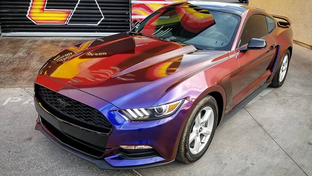 2017 Ford Mustang Vinyl Wrapped In Avery Dennison Supreme Gloss