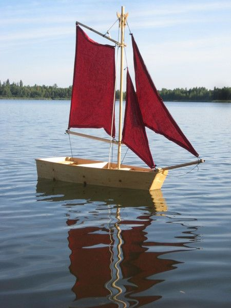 Holzboot Boot Abenteuer Kinder Basteln Pinterest Holzboote