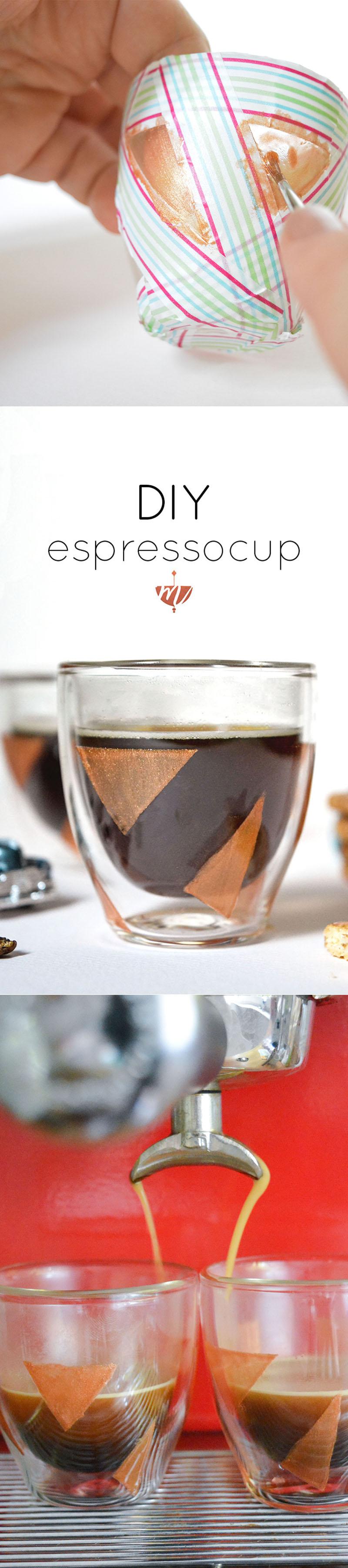 DIY EspressoGläser bemalen Gläser bemalen, Diy