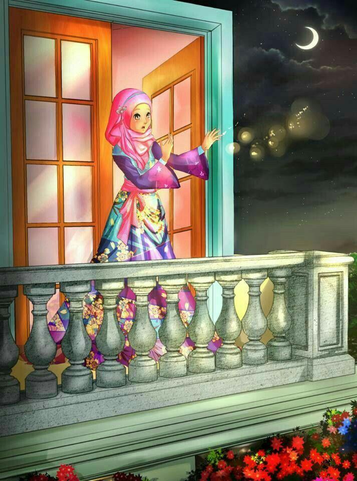 Ramadan Mubarak Anime Muslim Islamic Art Islamic Cartoon