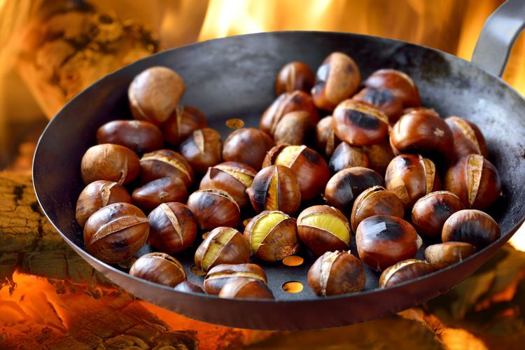 A Guide to Cooking Chestnuts Including How to Roast, Boil, and Grill