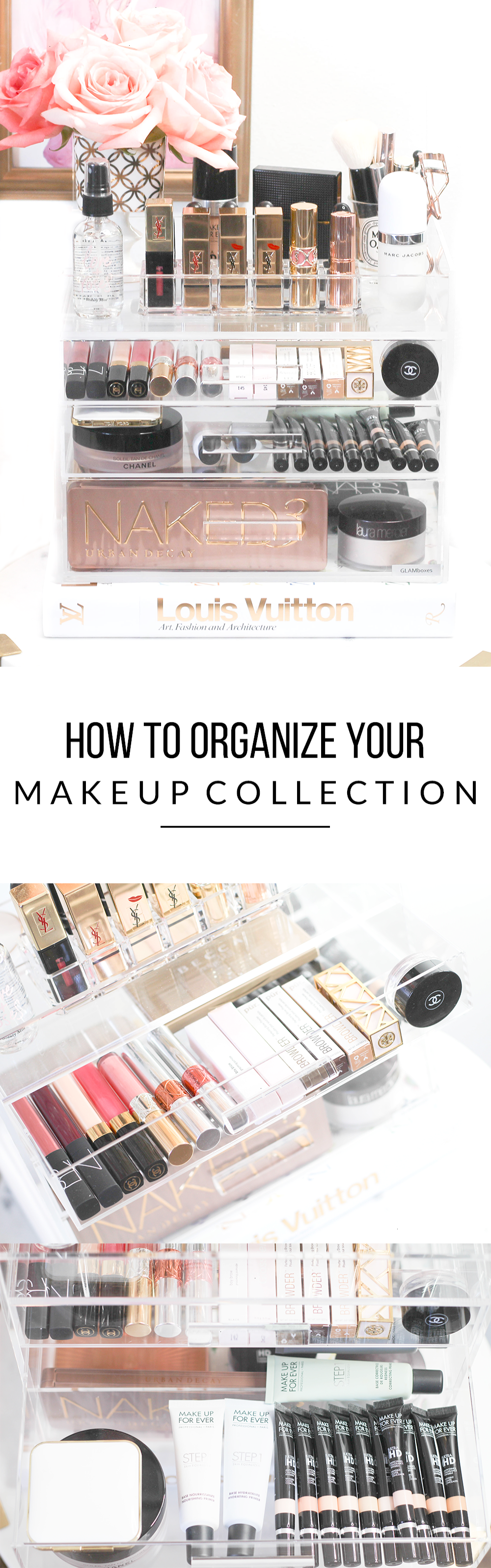 How To Organize Your Makeup Collection - Makeup Organization -