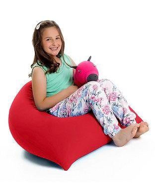 Red Yogi Pyramid Bean Bag Chair Bean Bag Chair Large Bean Bag Chairs Bean Bag Furniture