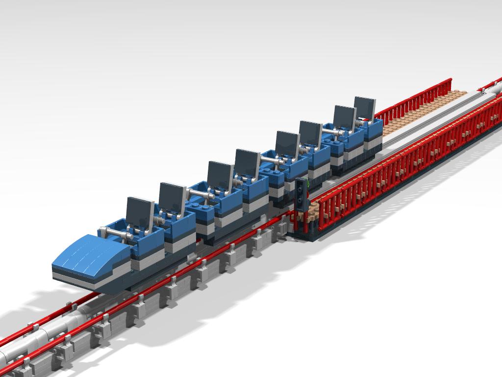 roller coaster tycoon lego version lego mania. Black Bedroom Furniture Sets. Home Design Ideas