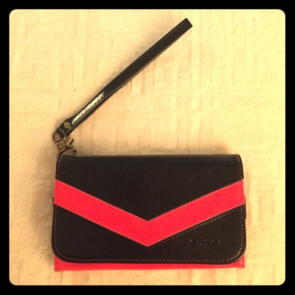 iPhone 6 Case/Wallet Wristlet Red and black iPhone wristlet! Accessories Phone Cases