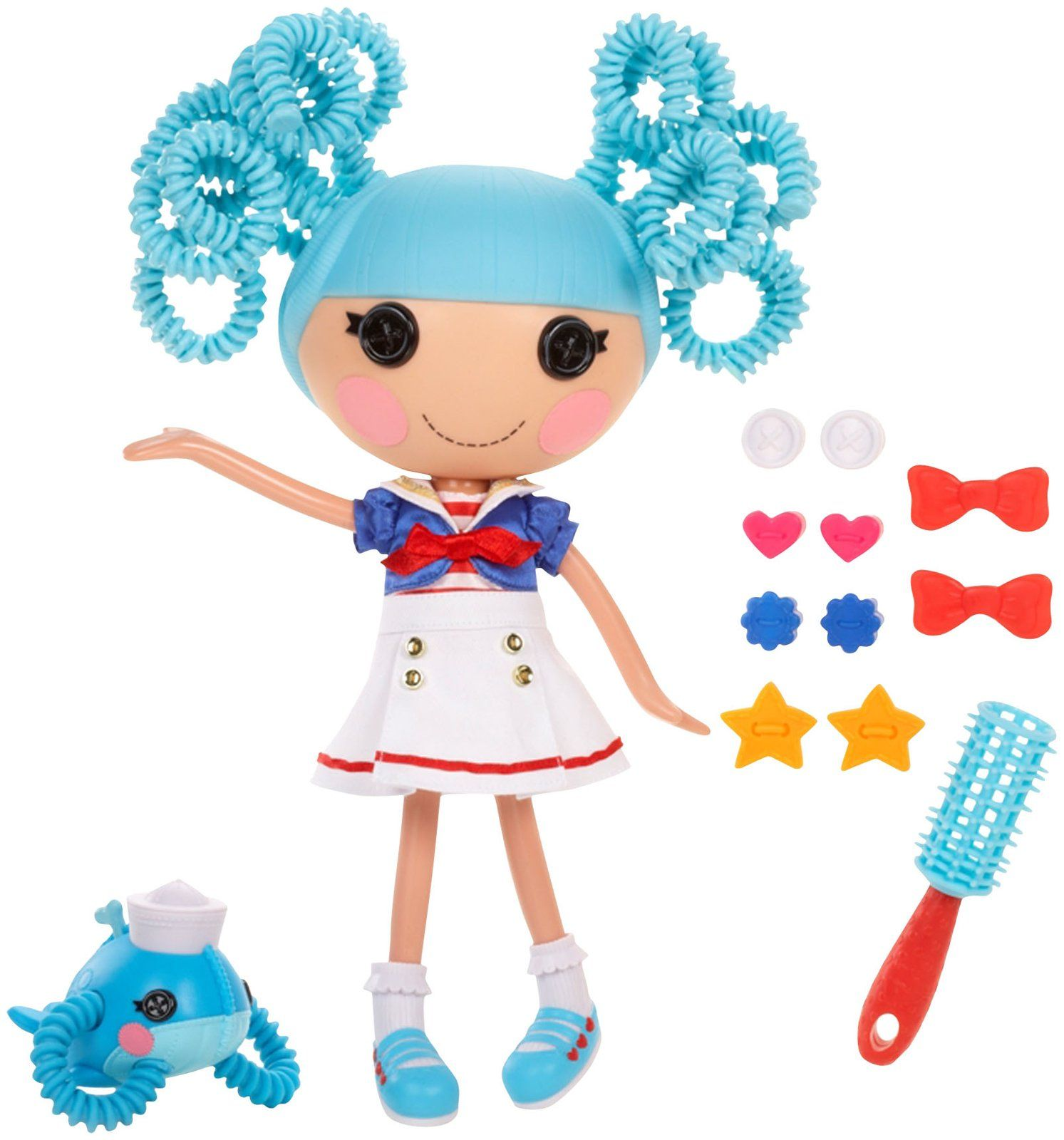 Lalaloopsy Silly Hair Doll Marina Anchors Lalaloopsy