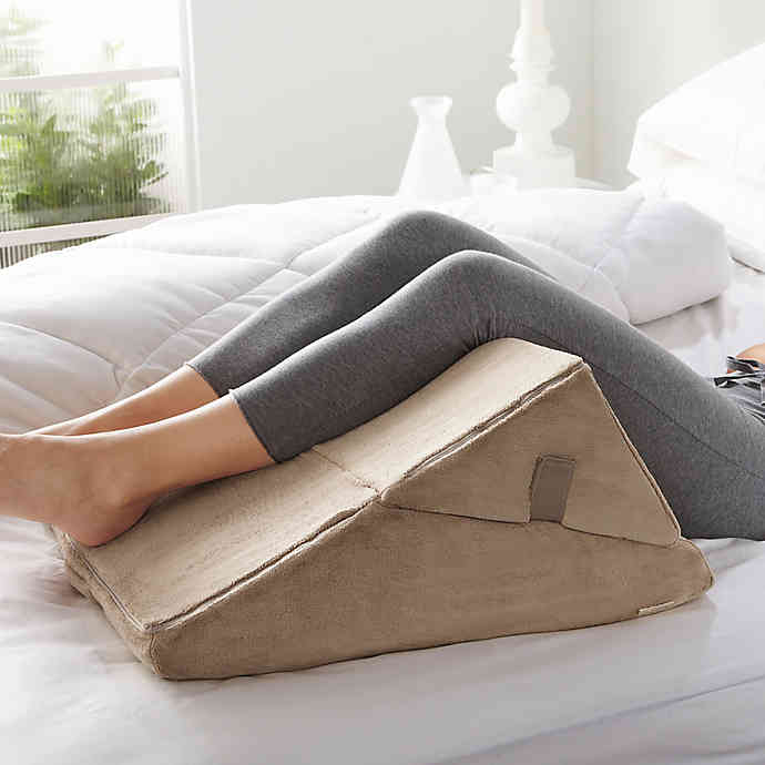Brookstone® 4in1 Bed Wedge Pillow in 2020 Bed wedge