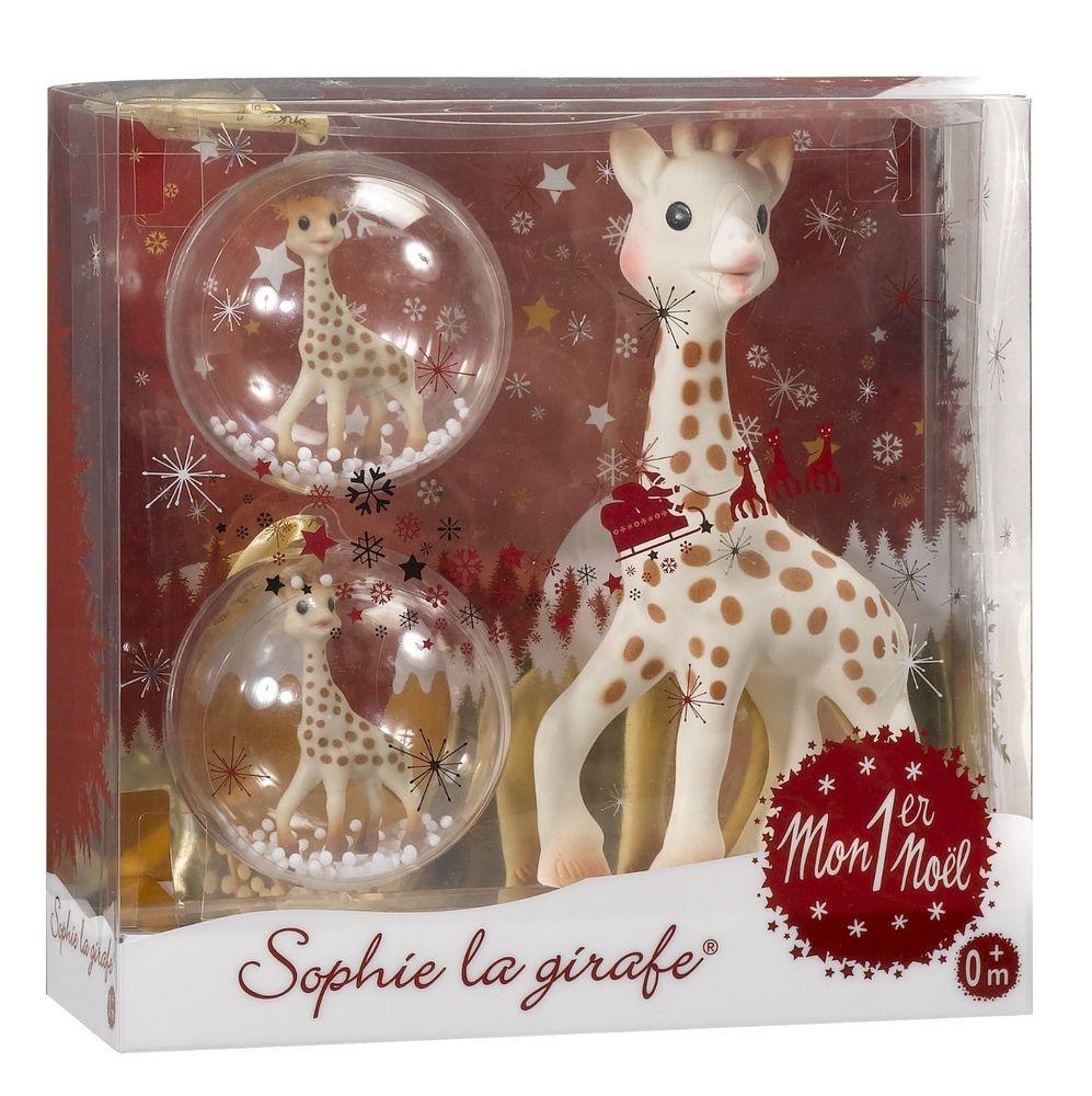 SOPHIE LA GIRAFE   COFFRET CADEAU Mon premier Noël Sophie la