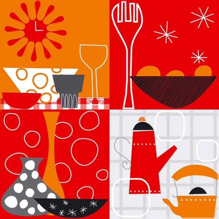 hermosos y atractivos cuadros de cocina modernos