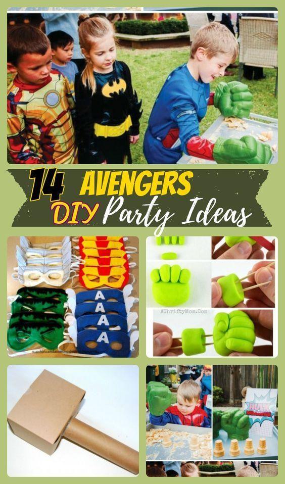 14 Avengers Birthday Party Ideas For Superhero Lovers Avengers