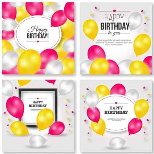 15 Birthday Card Template Files to Download Free Надо попробовать