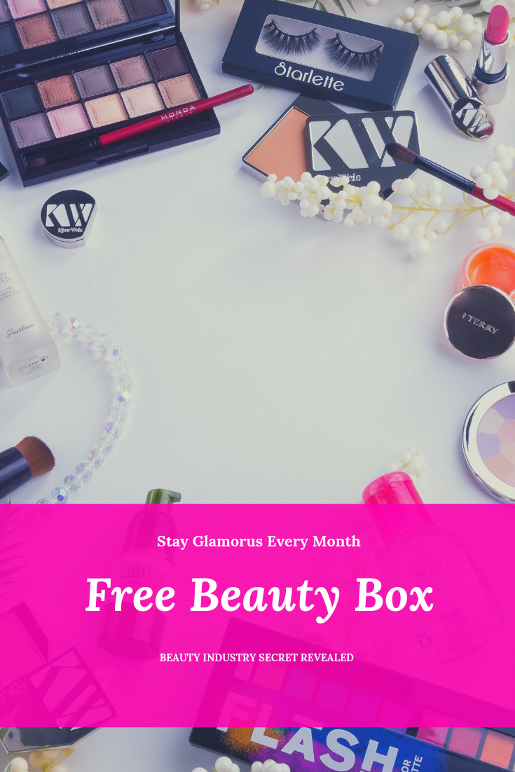 How To Get Free Beauty Sample Products Free Beauty Samples Free Beauty Box Free Makeup Samples