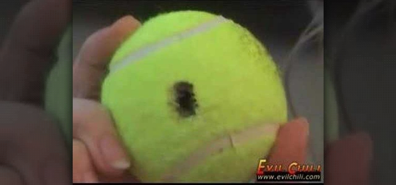 How to use a tennis ball to unlock car doors without a key