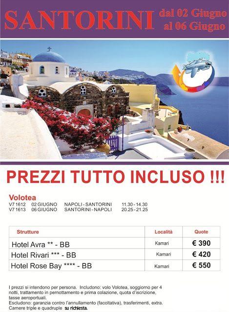 JLAND TRAVEL: SANTORINI PONTE DEL 2 GIUGNO CON VOLO DA NAPOLI, P ...