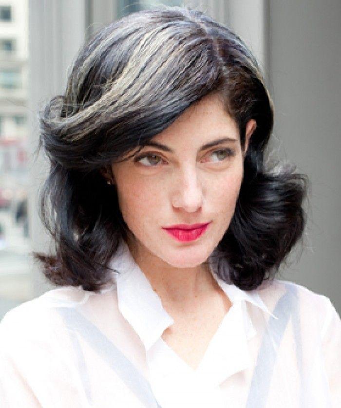 Image Result For Gray Hair Blending Process Gray Hair