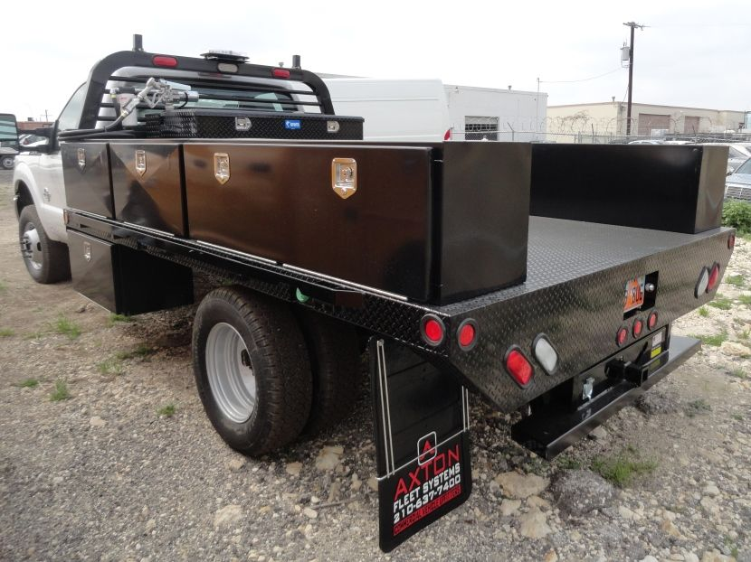 Axton Truck Equipment San Antonio Skirted Flatbed Gooseneck