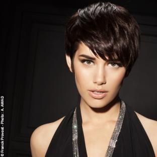 Coupe courte franck provost portraits coiffures - Franck provost coupe femme ...