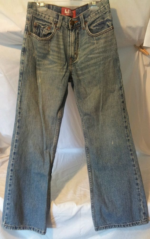 Levi's 527 Boot Cut Jeans Red Tab Boys Size 14 27 x 27  #Levis #BootCut #Everyday