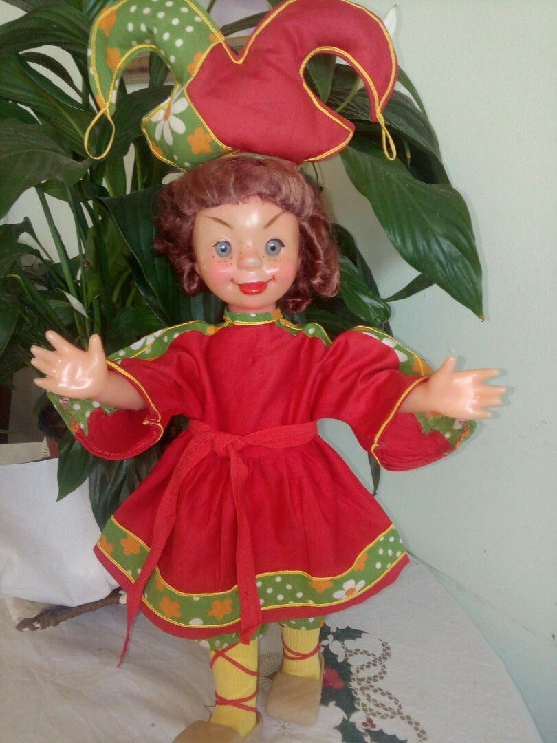 Тимошка ряженый, фабрика 8 марта, 1970г | Куклы