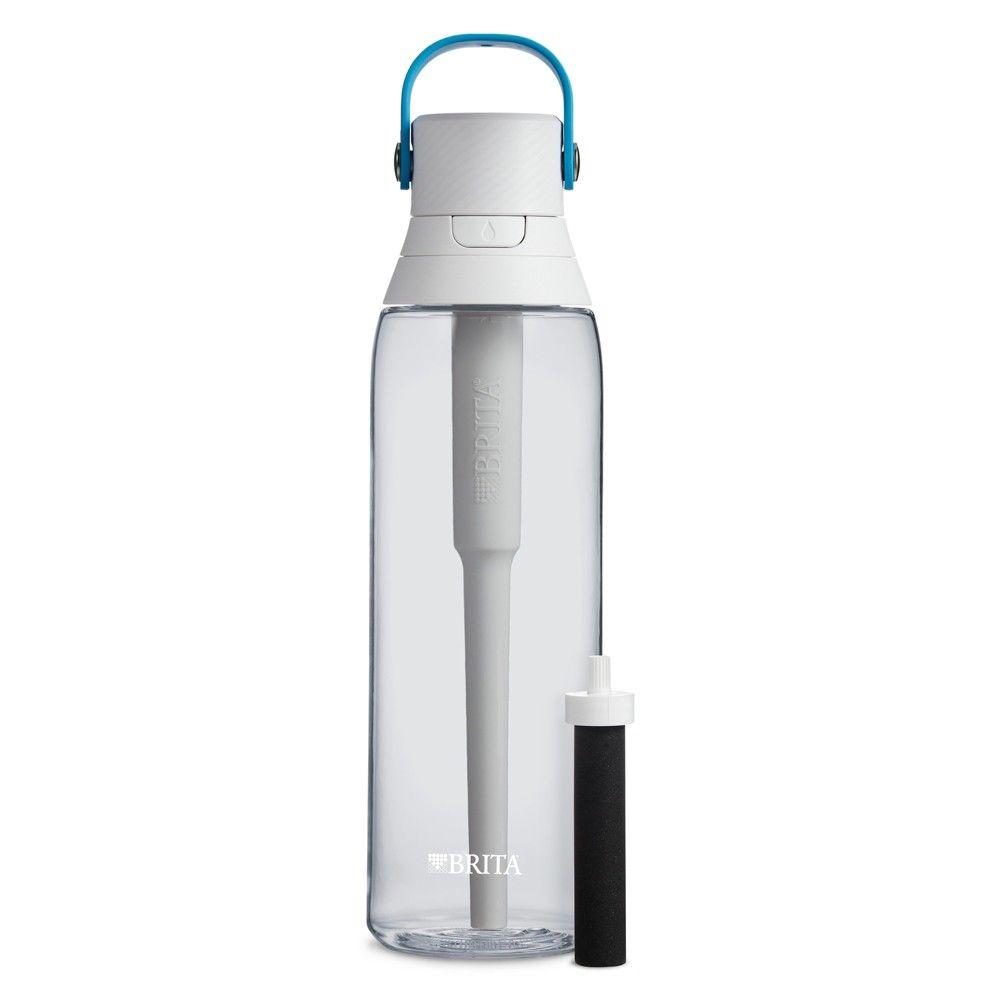 Brita premium 26oz filtering water bottle with filter bpa