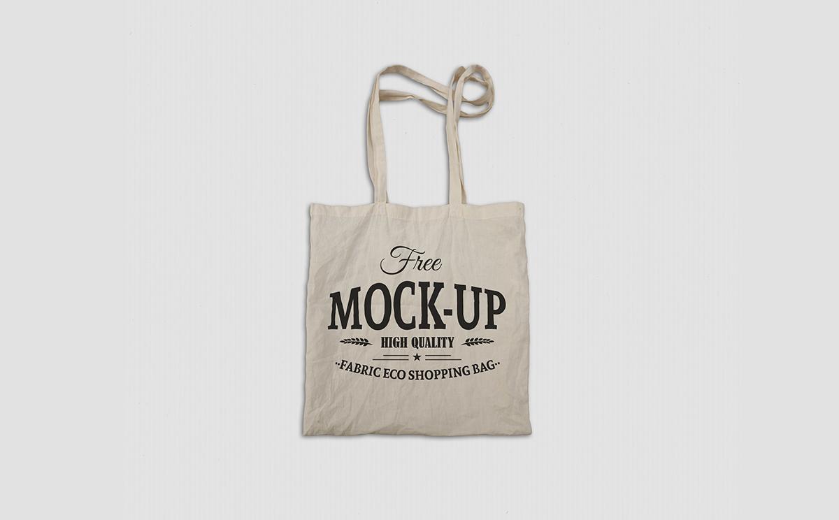 18d489c91ff4 Free Fabric Eco Bag Mockup on Behance