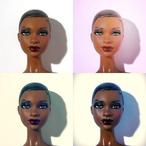 #blackbarbie #barbie #poupee #doll