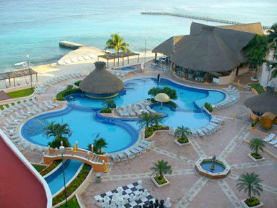El Cozumeleno Resort in Cozumel..... I stayed here and LOVED it!